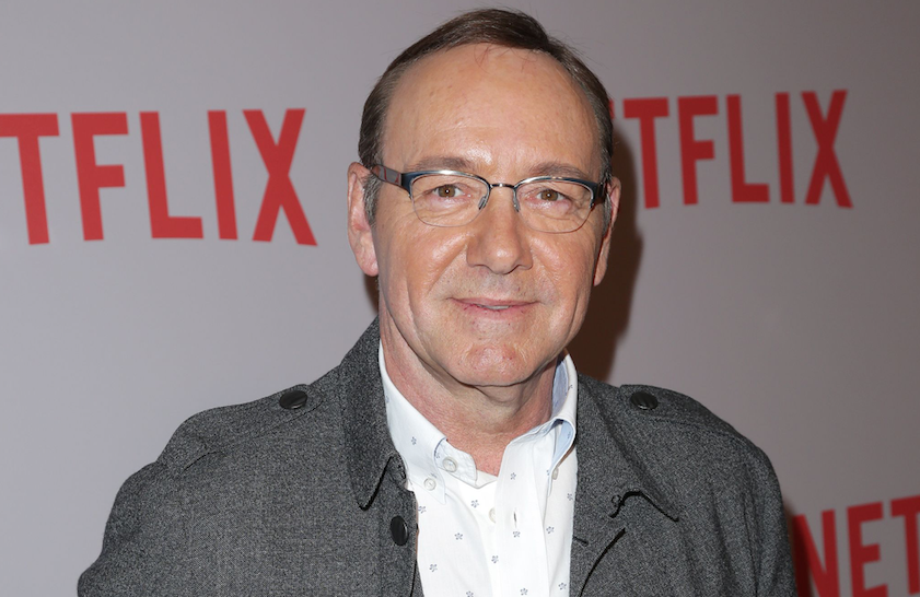 Kevin Spacey Re-Emerges for Bizarre Poetry Reading
