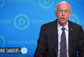Larry David as Bernie Sanders on Saturday Night Live