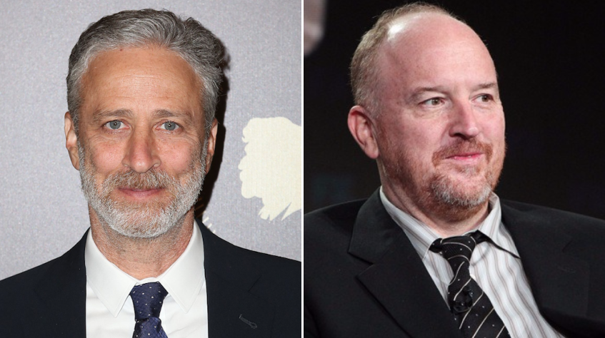 Jon Stewart reveals his thoughts on the Louis CK scandal