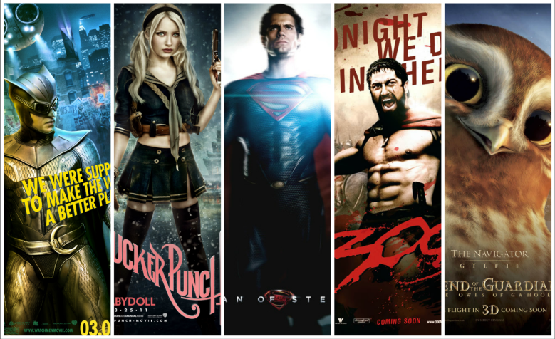 the films of zack snyder