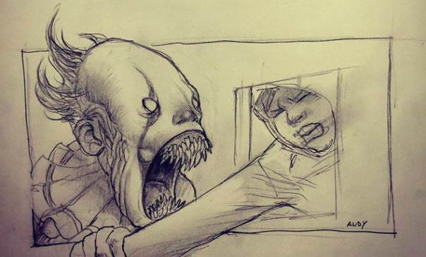 It Director Andres Muschietti Shares A Spooky Sketch Of Pennywise Indiewire