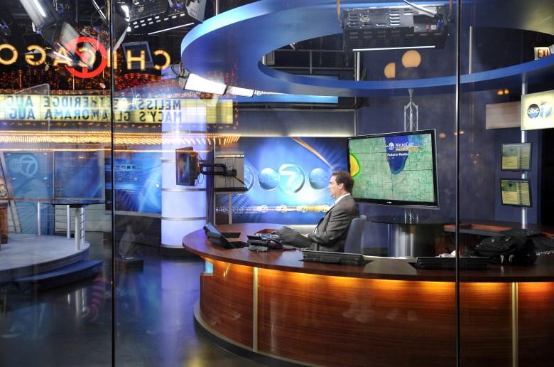 ABC TV Studio, www.abc7Chicago.com, Randolph Street, Chicago, Illinois, United States of America, USA VARIOUS