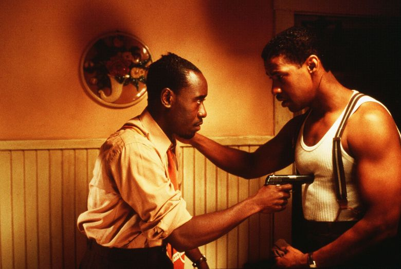 "Don Cheadle and Denzel Washington, ""Devil With a Blue Dress"""