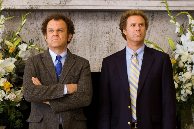 No Merchandising. Editorial Use Only. No Book Cover Usage.Mandatory Credit: Photo by Columbia/Kobal/REX/Shutterstock (5886230bl)John C Reilly, Will FerrellStep Brothers - 2008Director: Adam McKayColumbiaUSAScene StillComedyFrangins malgré eux