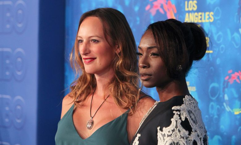 Jen Richards and Angelica Ross