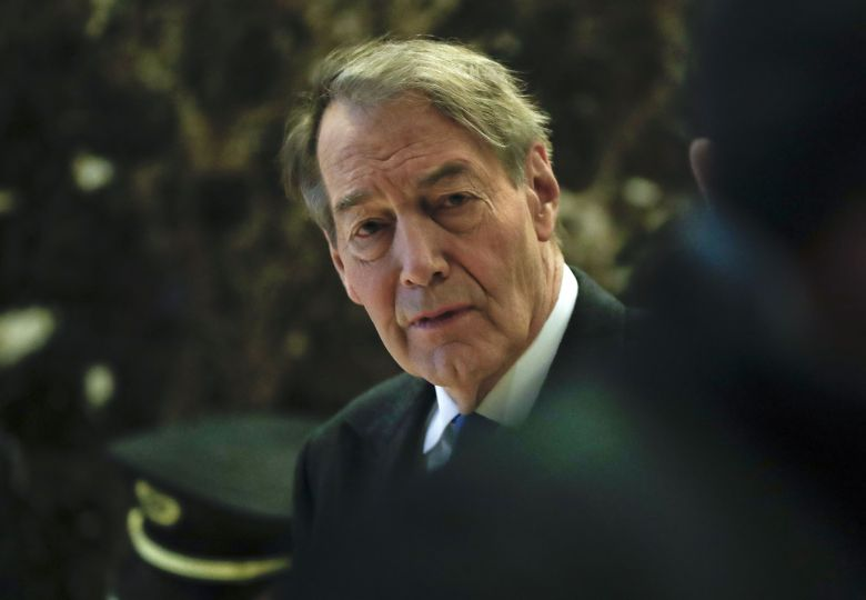 TV News anchor Charlie Rose TV News anchor Charlie Rose walks through the Trump Tower, in New YorkTrump, New York, USA - 21 Nov 2016