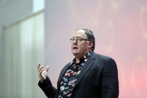 "Pixar Animation Studios Chief Creative Officer John Lasseter is seen during a news conference at the North American International Auto Show, in Detroit before unveiling an aggressive newcomer to Disney Pixar's ""Cars"" series. The new character challenges wily veteran Lightning McQueen. Pixar unveiled new character Jackson Storm and gave away some of the plot for ""Cars 3"" on SundayAuto Show Cars 3, Detroit, USA - 08 Jan 2017"