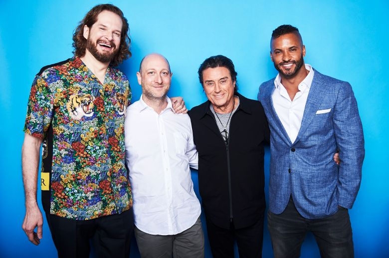 Bryan Fuller, Michael Green, Ian McShane and Ricky WhittleThe Contenders Emmys, presented by Deadline, Photo Studio, Los Angeles, USA - 09 Apr 2017