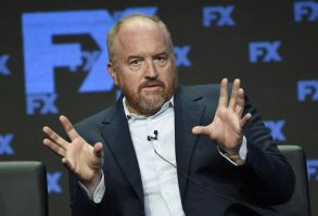 "Louis C.K., co-creator/writer/executive producer, participates in the ""Better Things"" panel during the FX Television Critics Association Summer Press Tour at the Beverly Hilton, in Beverly Hills, Calif2017 Summer TCA - FX, Beverly Hills, USA - 09 Aug 2017"
