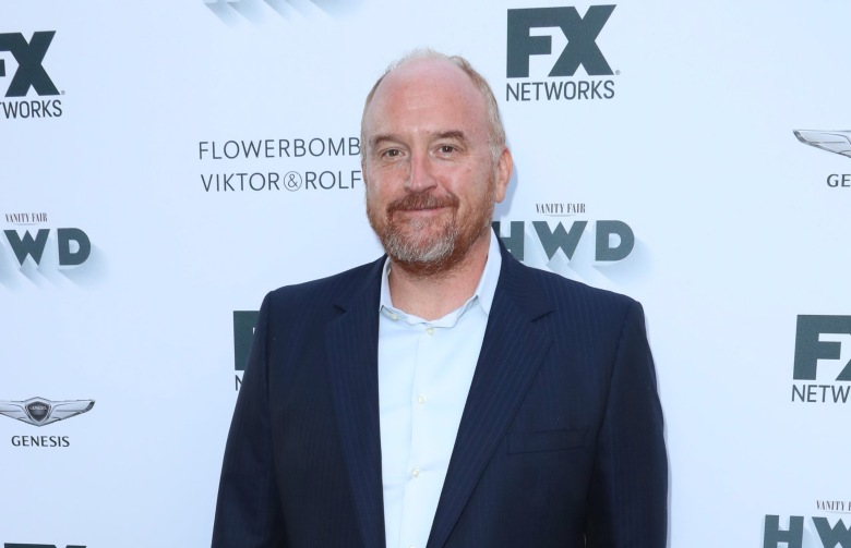 Louis CKVanity Fair and FX Network Pre-Emmy party, Arrivals, Los Angeles, USA - 16 Sep 2017