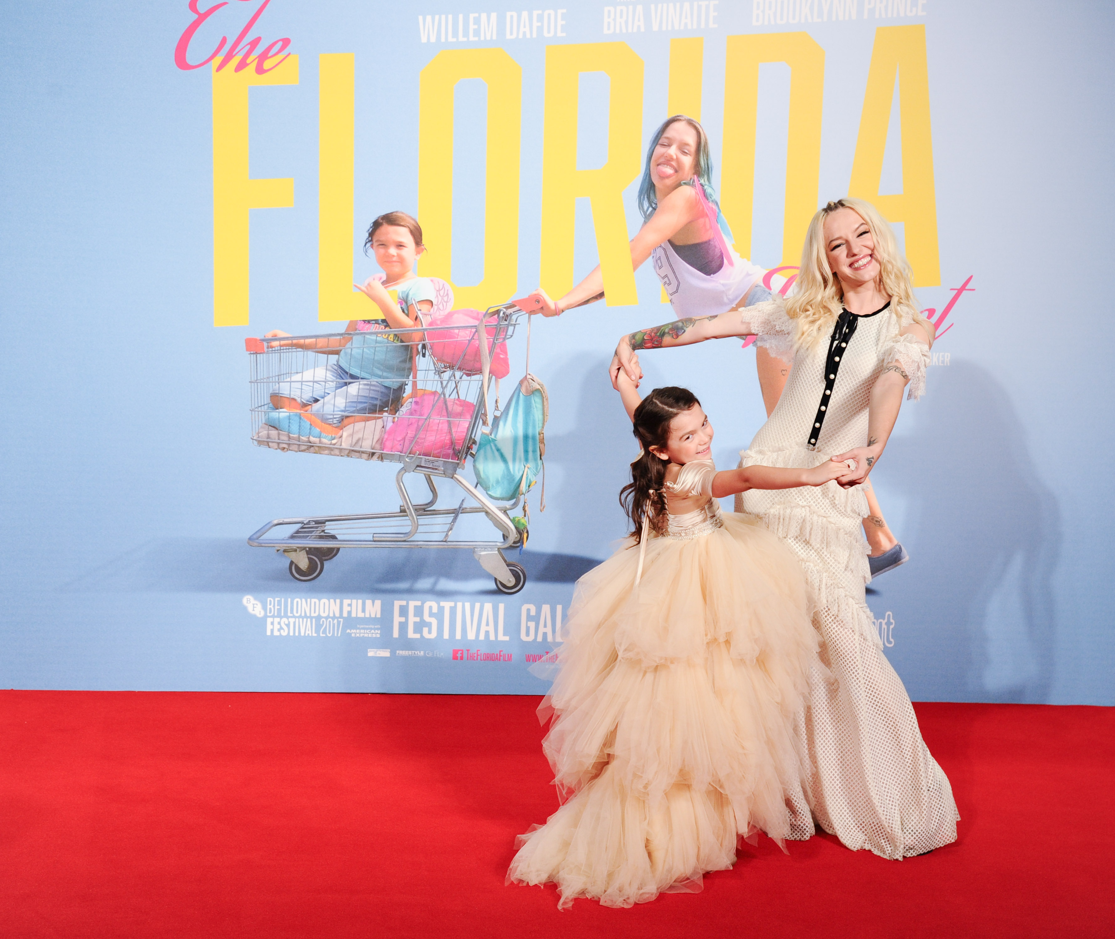 Brooklyn Kimberly Prince & Bria Vinaite'The Florida Project' premiere, BFI London Film Festival, UK - 13 Oct 2017