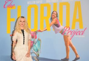 Bria Vinaite at The Florida Project premiere