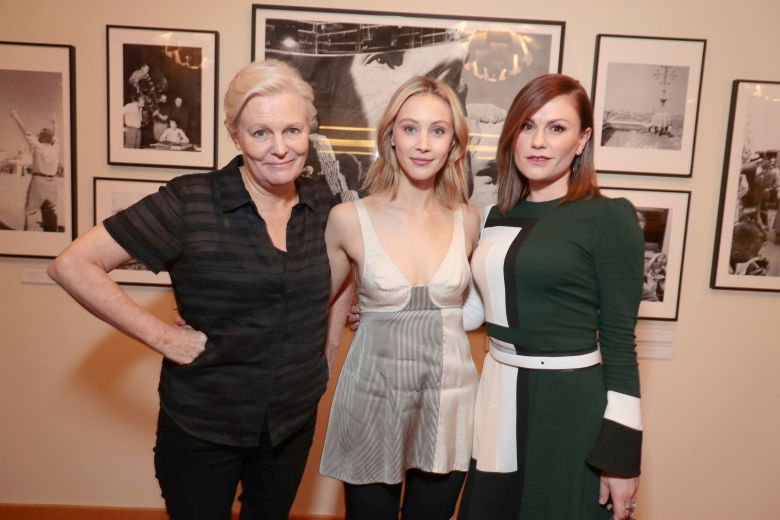 EXCLUSIVE ALLROUNDMandatory Credit: Photo by Eric Charbonneau/REX/Shutterstock (9165986b) Mary Harron - Director, Sarah Gadon and Anna Paquin Netflix original series 'Alias Grace' Screening and Q&A at the Linwood Dunn Theater, Los Angeles, USA - 21 Oct 2017