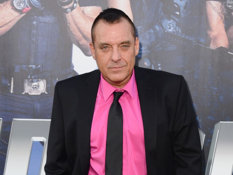 "Actor Tom Sizemore arrives at the premiere of ""The Expendables 3"" in Los Angeles. Los Angeles police arrested Sizemore on suspicion of domestic violence after receiving a call around 8:15 a.m. about a fight involving the actor in downtown Los AngelesPeople Tom Sizemore, Los Angeles, USA"