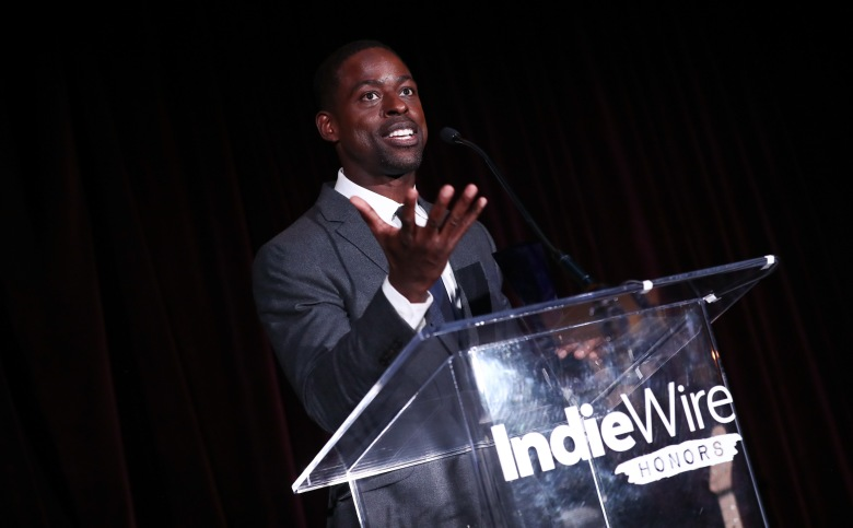 Sterling K. BrownIndiewire Honors, Inside, Los Angeles, USA - 02 Nov 2017