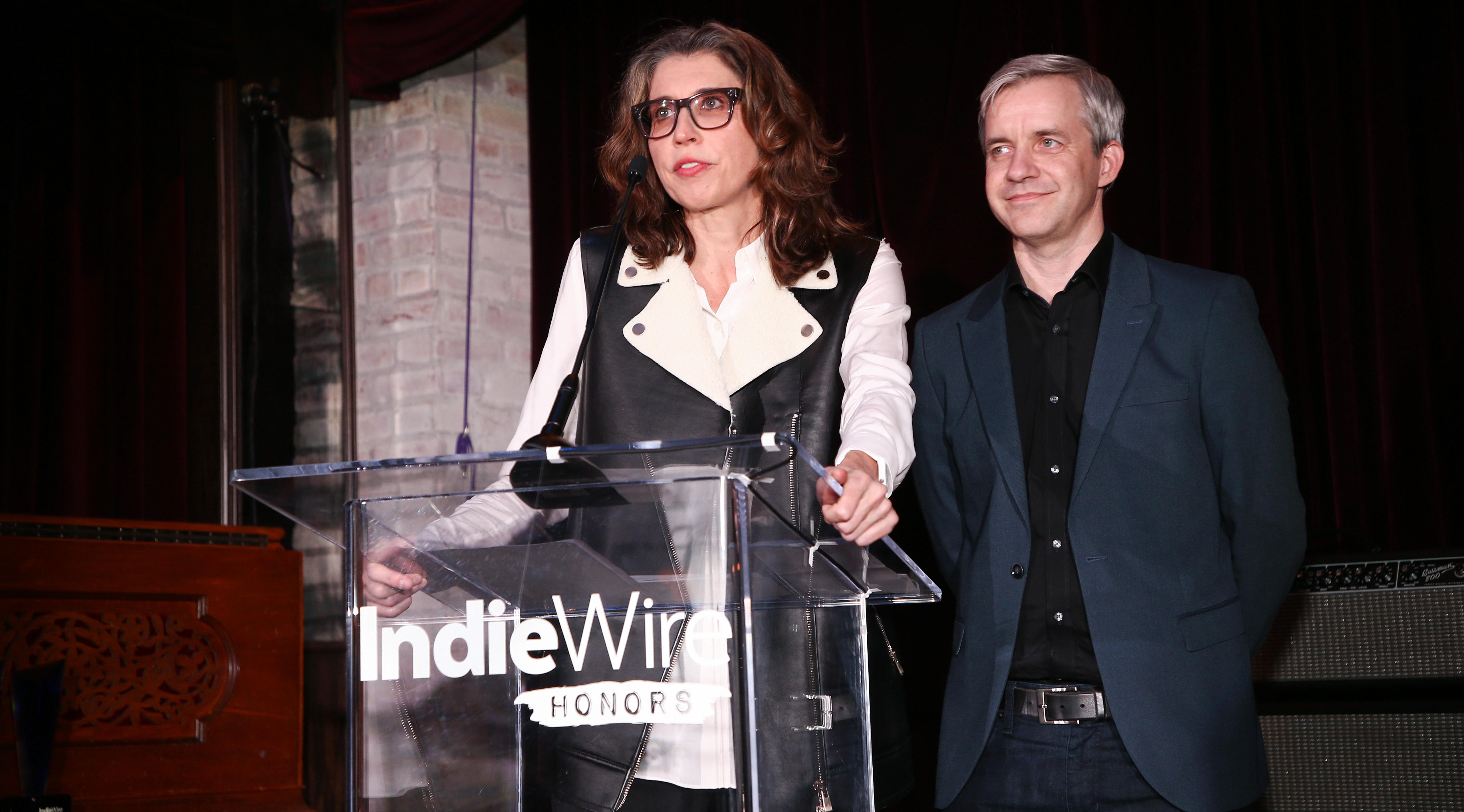 Dana Harris and James IsraelIndiewire Honors, Inside, Los Angeles, USA - 02 Nov 2017