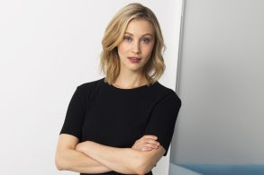 """Actress Sarah Gadon poses for a portrait to promote her series, """"Alias Grace"""" in New YorkSarah Gadon Portrait Session, New York, USA - 16 Aug 2017"""