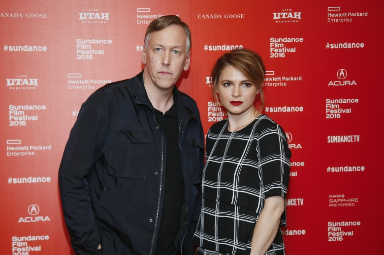 """Directors, writers and executive producers Lodge Kerrigan, left, and Amy Seimetz, right, pose at the premiere of the Starz original limited series """"The Girlfriend Experience"""" during the 2016 Sundance Film Festival, in Park City, Utah2016 Sundance Film Festival - """"The Girlfriend Experience"""" Premiere, Park City, USA - 23 Jan 2016"""