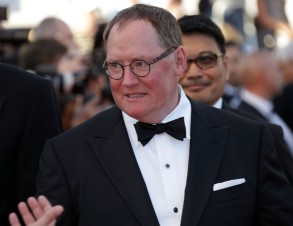 John Lasseter poses for photographers upon arrival for the screening of the film Inside Out at the 68th international film festival, Cannes, southern FranceInside Out Red Carpet, Cannes, France - 18 May 2015