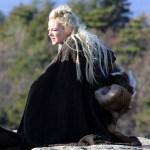 'Maniac' on set filming, New York, USA - 27 Nov 2017
