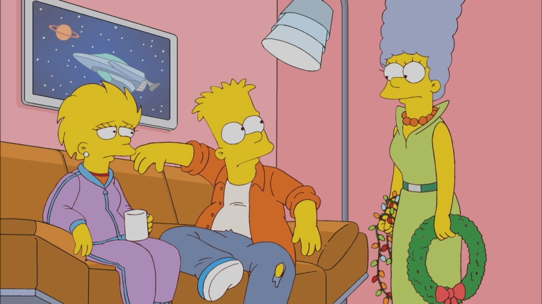 """The Simpsons,"" Season 23, Episode 9 - ""Holidays of Future Passed"""
