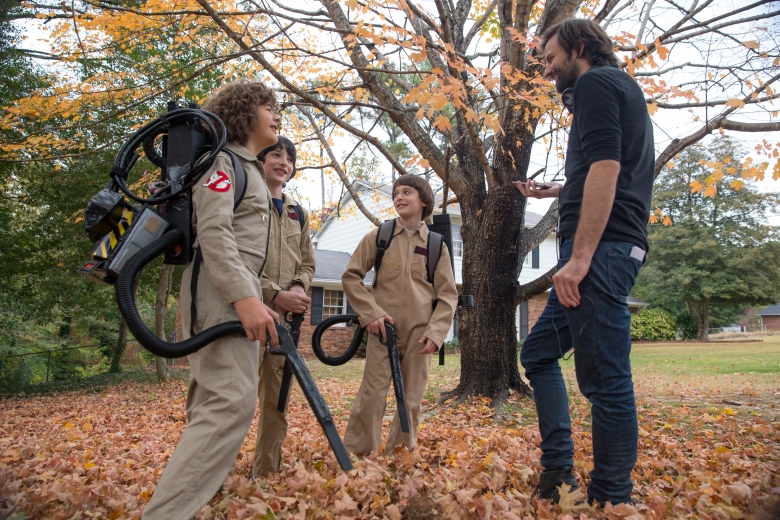 "Behind the scenes, ""Stranger Things"""