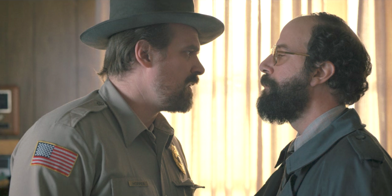 "David Harbour and Brett Gelman, ""Stranger Things"