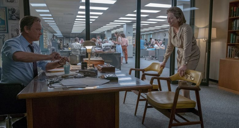 "Tom Hanks and Meryl Streep in ""The Post"""
