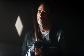 Jeffrey Dean Morgan as Negan - The Walking Dead _ Season 8, Episode 1 - Photo Credit: Gene Page/AMC