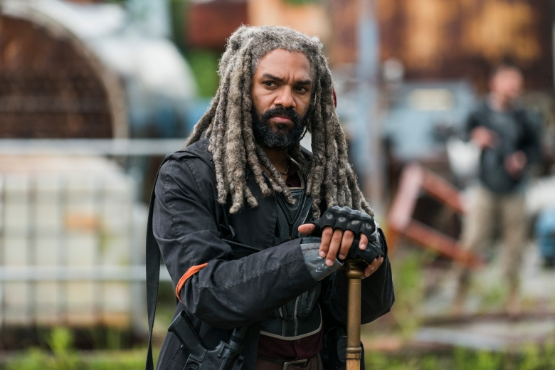 Khary Payton as Ezekiel - The Walking Dead _ Season 8, Episode 3 - Photo Credit: Gene Page/AMC