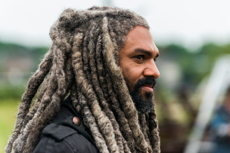 Khary Payton as Ezekiel - The Walking Dead _ Season 8, Episode 3 - Photo Credit: Gene Page/AMC
