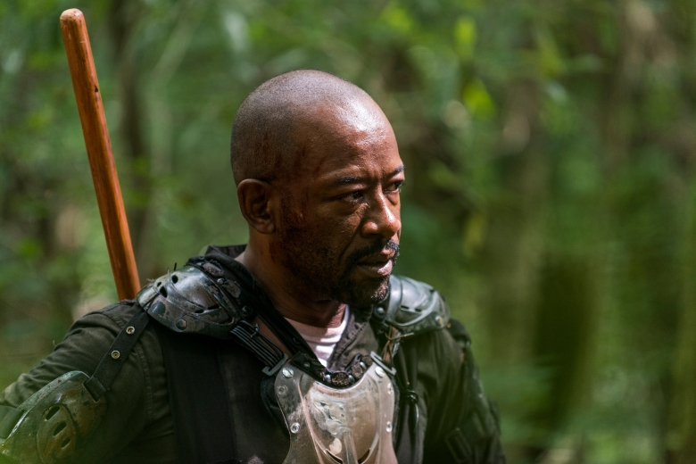 Lennie James as Morgan Jones - The Walking Dead _ Season 8, Episode 3 - Photo Credit: Gene Page/AMC
