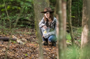 Chandler Riggs as Carl Grimes - The Walking Dead _ Season 8, Episode 6 - Photo Credit: Jackson Lee Davis/AMC