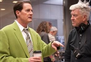 Twin Peaks Blu-ray BTS Kyle MacLachlan David Lynch