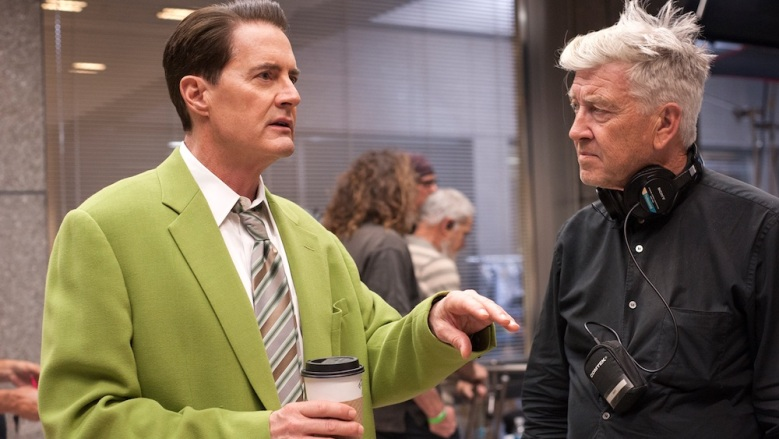 Twin Peaks Blu-ray BTS Kyle MacLachlan David Lynch