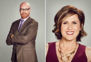 """Cord Hosenbeck"" and ""Tish Cattigan"" Will Ferrell Molly Shannon"