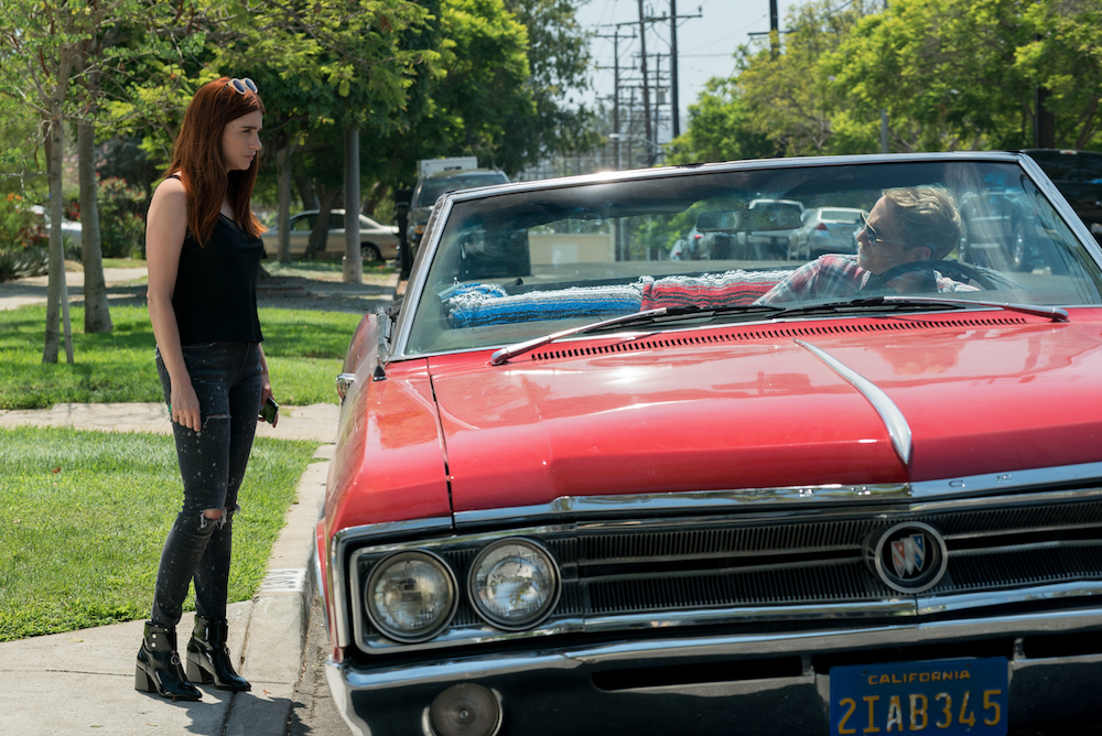 """YOU'RE THE WORST -- """"It's Always Been This Way"""" - Season Four, Episode 13 (Airs November 15, 10:30 pm e/p) Pictured (l-r): Aya Cash as Gretchen, Chris Geere as Jimmy. CR: Byron Cohen/FXX"""