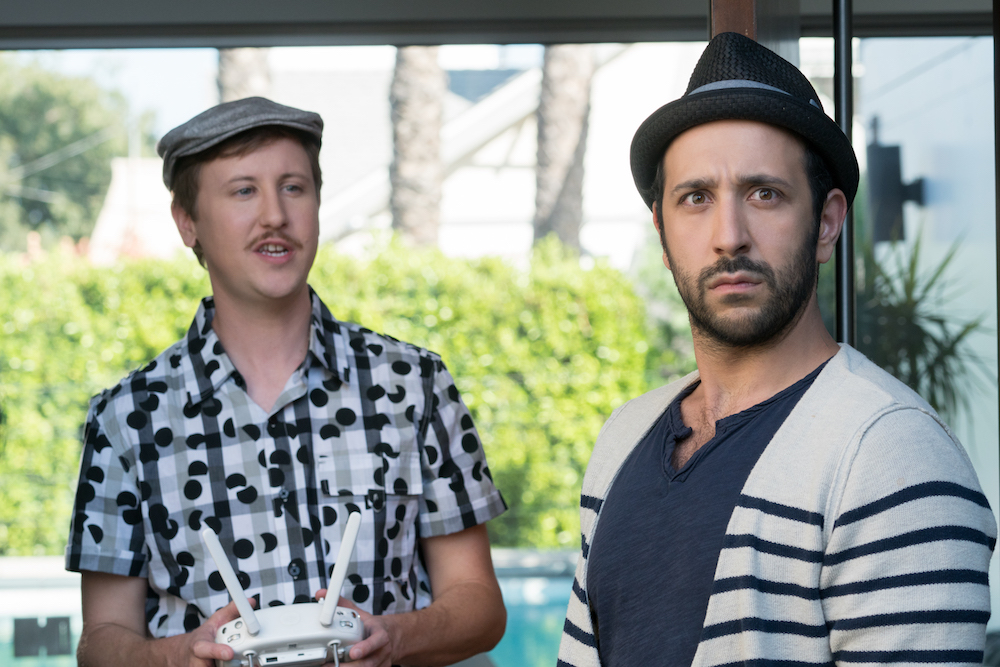 """YOU'RE THE WORST -- """"It's Always Been This Way"""" - Season Four, Episode 13 (Airs November 15, 10:30 pm e/p) Pictured (l-r): Johnny Pemberton as Max, Desmin Borges as Edgar. CR: Byron Cohen/FXX"""