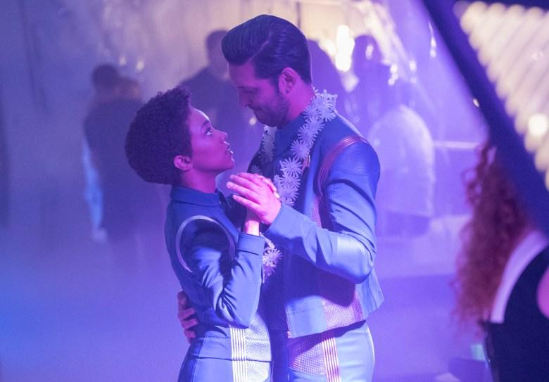 "Sonequa Martin-Green and Shazad Latif, ""Star Trek: Discovery"""