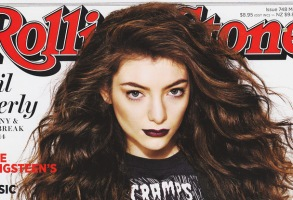 Rolling Stone Magazine Cover Lorde