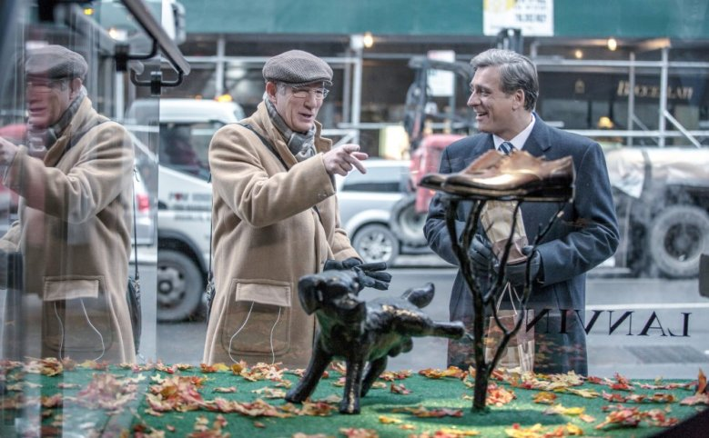 NORMAN: THE MODERATE RISE AND TRAGIC FALL OF A NEW YORK FIXER, from left, Richard Gere, Lior Ashkenazi, 2016, ph: Niko Tavernise, © Sony Pictures Classics