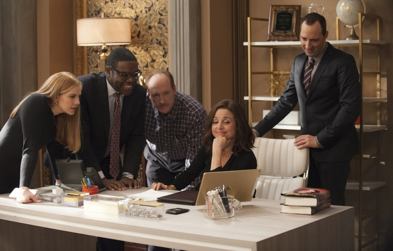 Veep Season 6 Episode 9 Julia Louis-Dreyfus Sam Richardson Tony Hale Anna Chlumsky