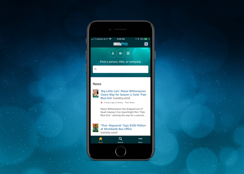 IMDBPro launches iPhone App