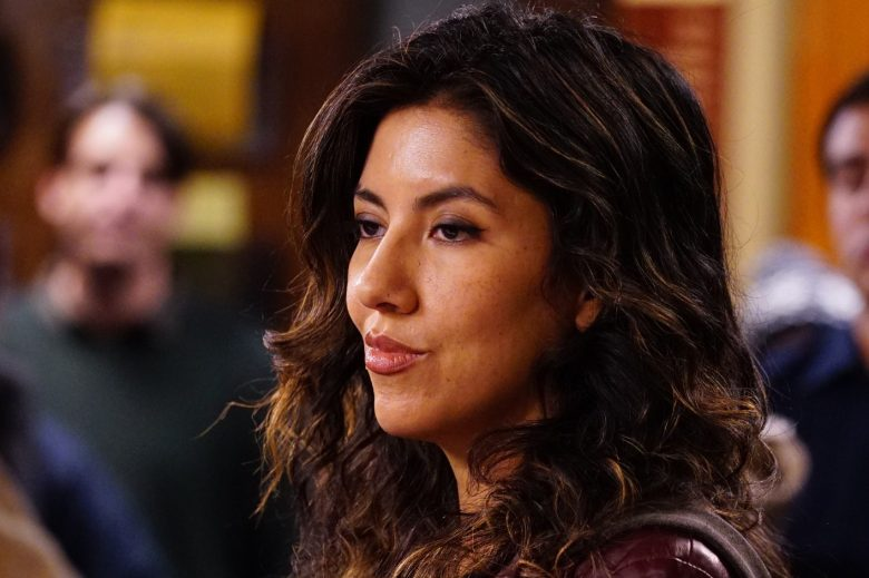 BROOKLYN NINE-NINE: Stephanie Beatriz in the ÒGame Night - The FavorÓ special one hour episode of BROOKLYN NINE-NINE airing Tuesday, Dec. 12 (9:30-10:00 PM ET/PT) on FOX. CR: FOX