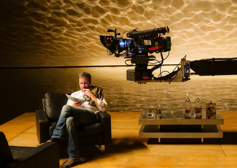 "Denis Villeneuve on the set of ""Blade Runner 2049"""