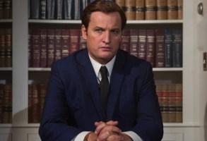 "Jason Clarke as Ted Kennedy in ""Chappaquiddick"""