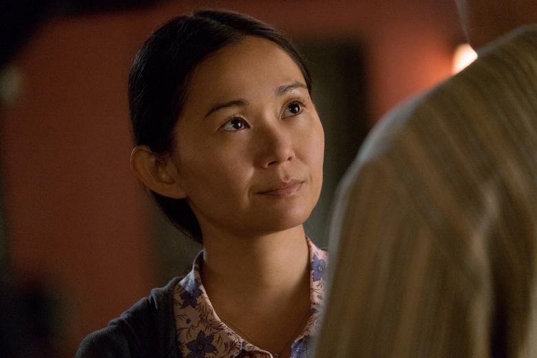 Hong Chau plays Ngoc Lan Tran in Downsizing from Paramount Pictures.