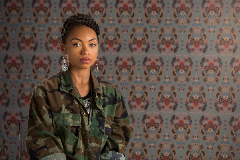 "Logan Browning, ""Dear White People"""