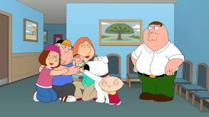 """FAMILY GUY: Peter resents the fact that everyone loves his vestigial twin, Chip, more than him in the all-new """"Vestigial Peter"""" episode of FAMILY GUY airing Sunday, October 6 (9:00-9:30 PM ET/PT) on FOX. FAMILY GUY ™ and © 2013 TCFFC ALL RIGHTS RESERVED. [Via MerlinFTP Drop]"""