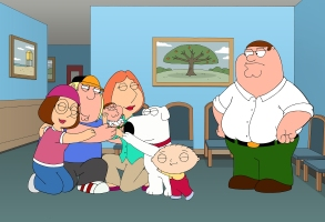"FAMILY GUY: Peter resents the fact that everyone loves his vestigial twin, Chip, more than him in the all-new ""Vestigial Peter"" episode of FAMILY GUY airing Sunday, October 6 (9:00-9:30 PM ET/PT) on FOX. FAMILY GUY ™ and © 2013 TCFFC ALL RIGHTS RESERVED. [Via MerlinFTP Drop]"